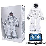 SUNGOOYUE Juguete RC Robot, Sensor De Gesto Robot RC Programación Inteligente Presentación Automática Juguete RC para Niños 8 Up