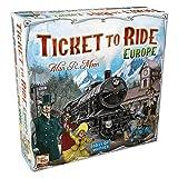 Days of Wonder Ticket to Ride Europe - Juego de mesa de estrategia sobre ferrocarriles (en inglés) - Idioma en Inglés