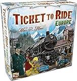 Days of Wonder Ticket to Ride Europe - Juego de Mesa de Estrategia sobre ferrocarriles (en inglés)
