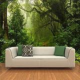Mrlwy Personalizado 3D estéreo Original bosque naturaleza paisaje Mural papel tapiz sala de estar TV sofá telón de fondo pared decoración del hogar-300x210CM