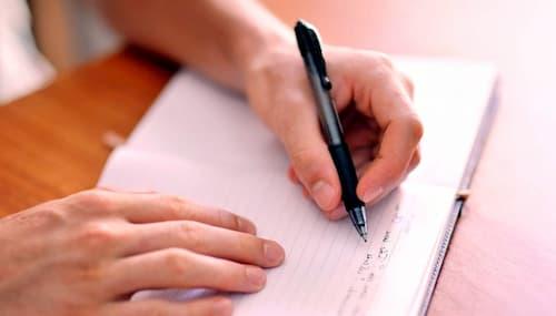 escritura terapeutica ejercicios pdf
