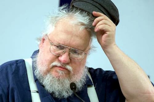 george rr martin joven