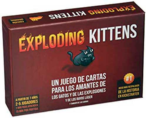 exploding kittens como jugar