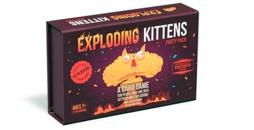 exploding kittens instrucciones